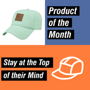 Product of the Month - Custom Hat