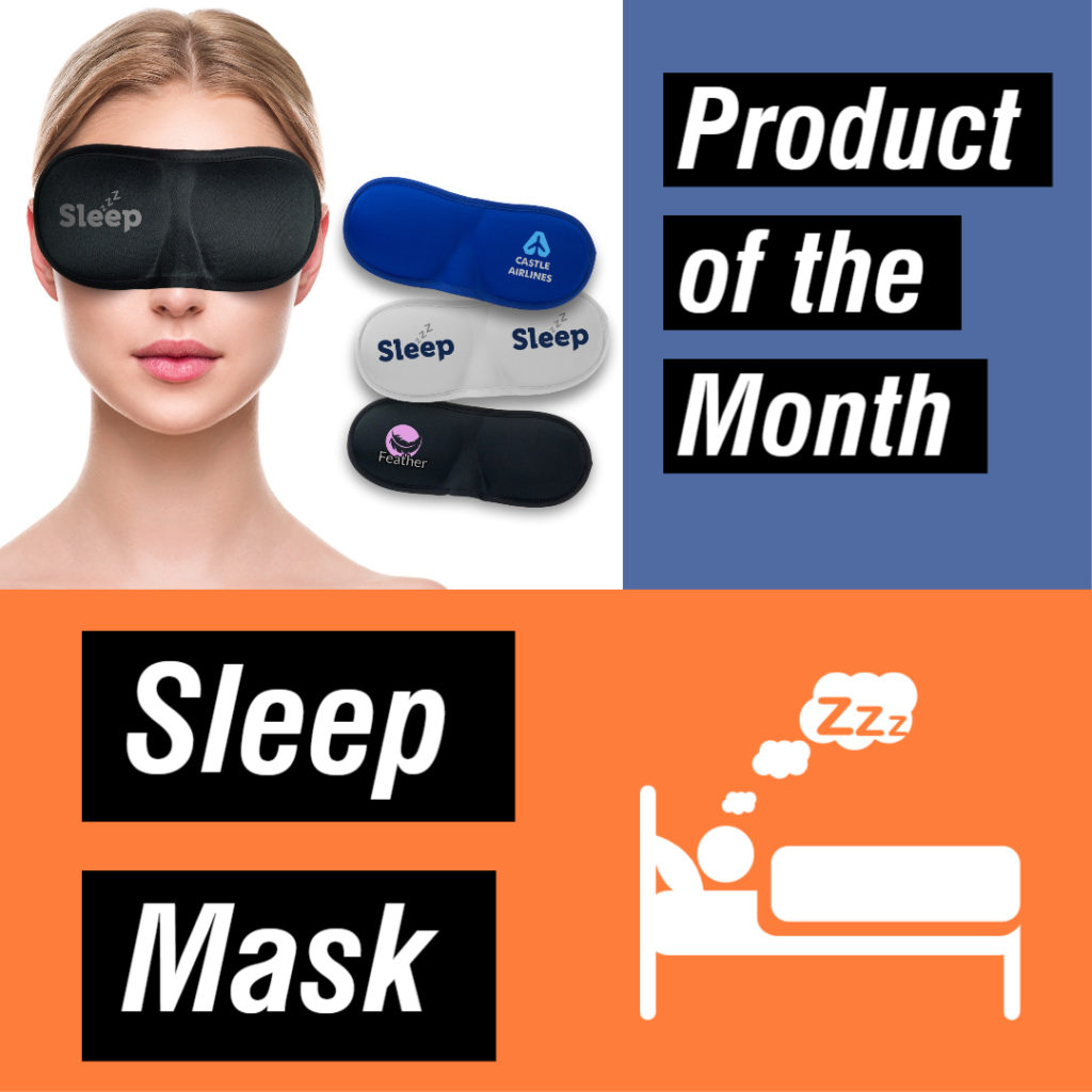 Sleep Mask Promo Item